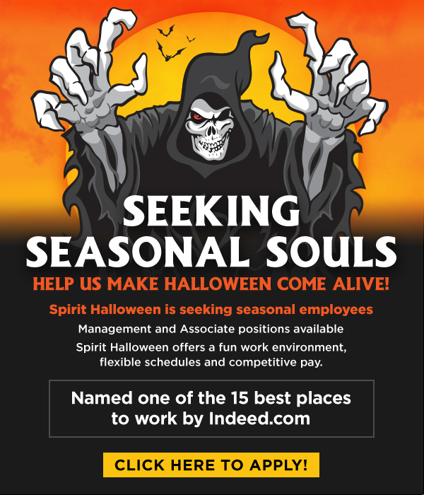 join our team and apply to work for spirit halloween today