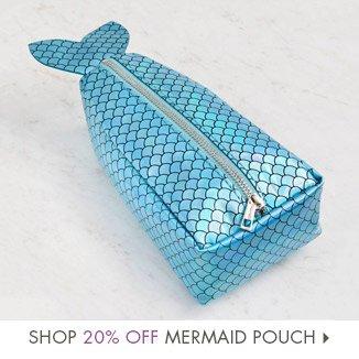 Shop 20% Off Mermaid Pouch