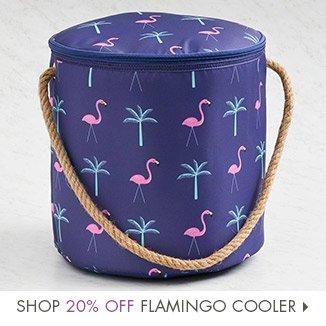 Shop 20% Off Flamingo Cooler