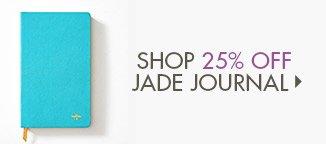 Shop 25% Off Jade Journal