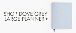 Shop Dove Grey Large Planner