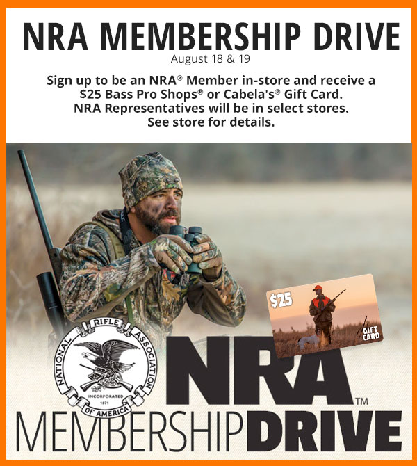 NRA Membership  Drive