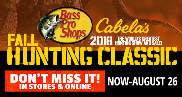 Fall Hunting  Classic - Sale Starts Today