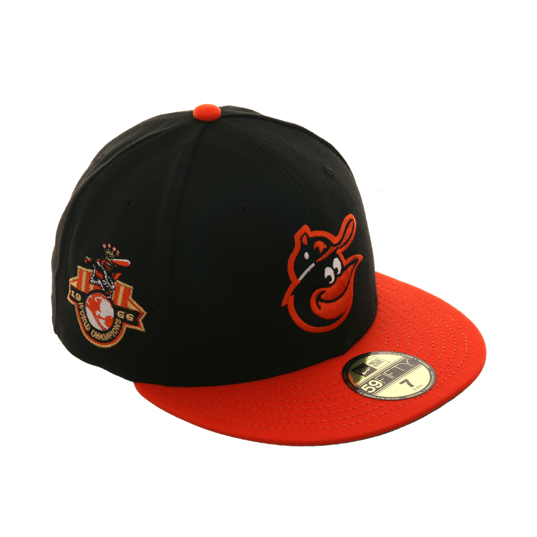035bfec4611 Exclusive New Era 59Fifty Baltimore Orioles 1966 World Series Patch Hat - 2T