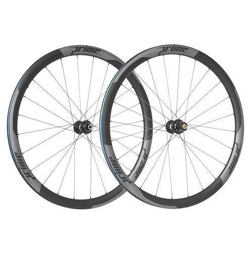 Prime RR-38 Carbon Clincher Disc Road Wheelset
