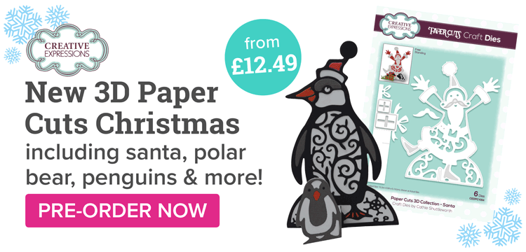 NEW Christmas Paper Cuts 3D