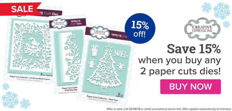 Buy Any 2 Paper Cuts & Save 15%