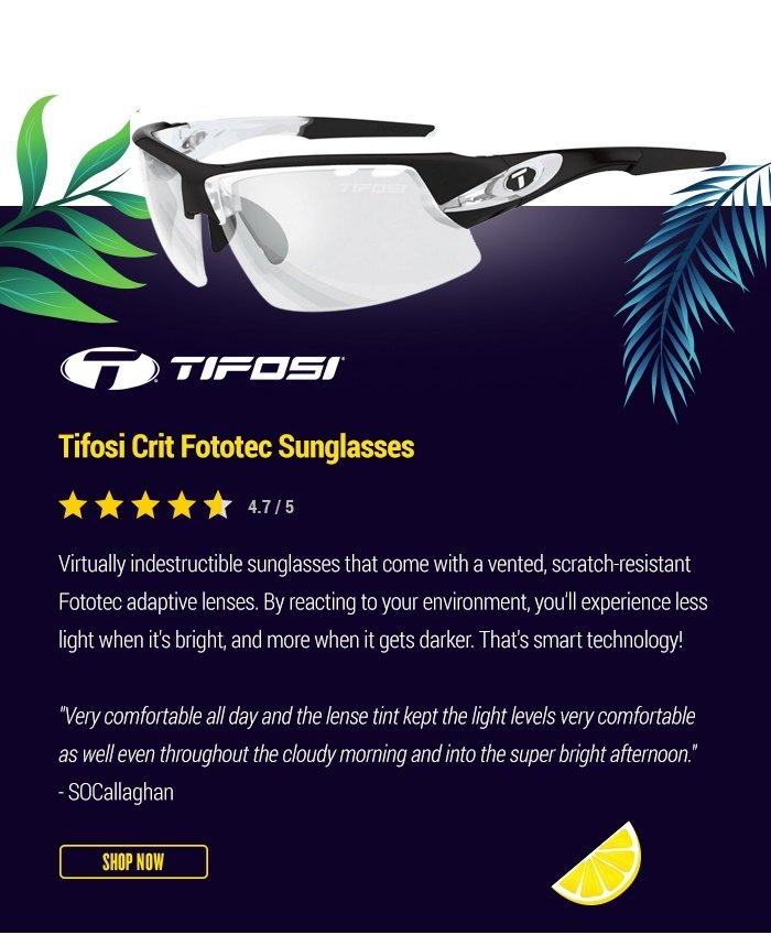 Tifosi Crit Fototec Sunglasses