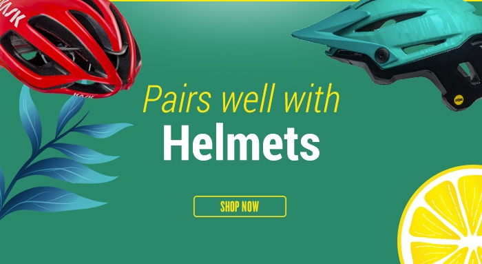 Pairs well with Helmets
