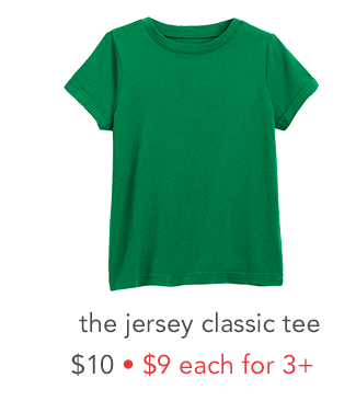 the jersey classic tee