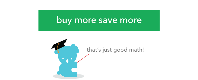 buy more save more: that's just good math!