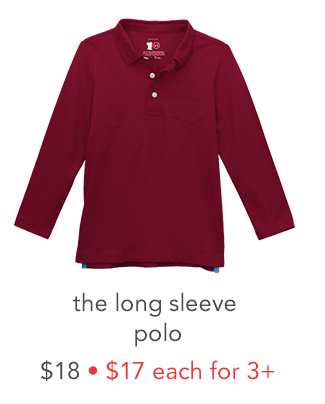 the long sleeve polo
