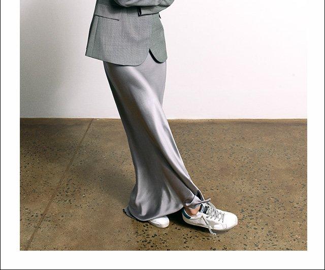 Utilitarian workwear...with a twist