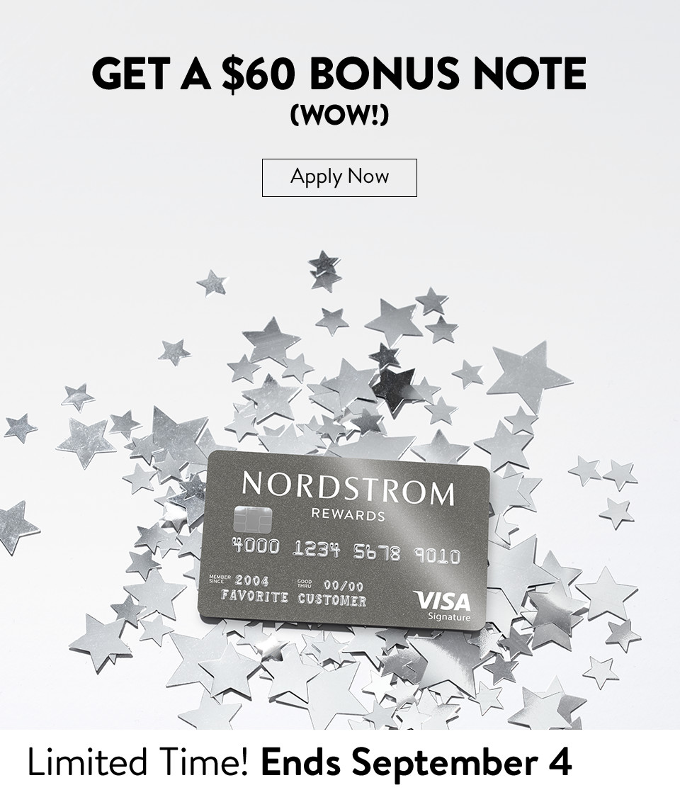 Get a $60 Bonus Note (Wow!) Apply Now - Limited Time! Ends September 4