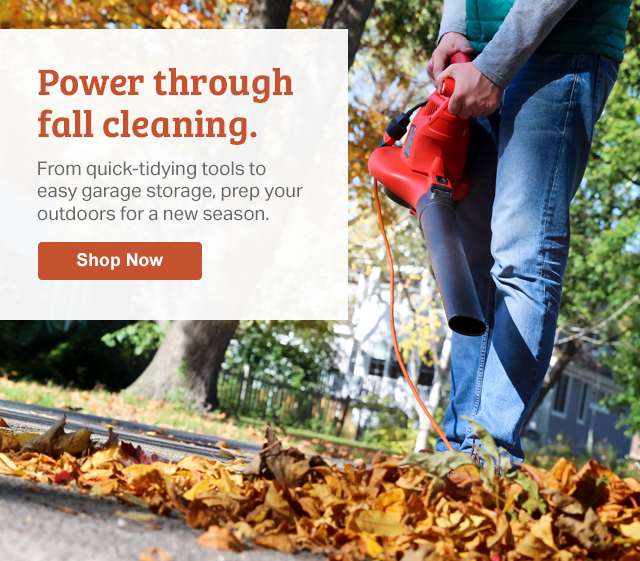 From quick-tidying tools to easy garage storage prep & Samu0027s Club: Your fall clean-up crew is here | Milled