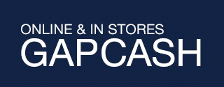 ONLINE & IN STORES | GAPCASH | Earn $20* when you spend $50+ thru 9/16 at Gap & Gap Factory.