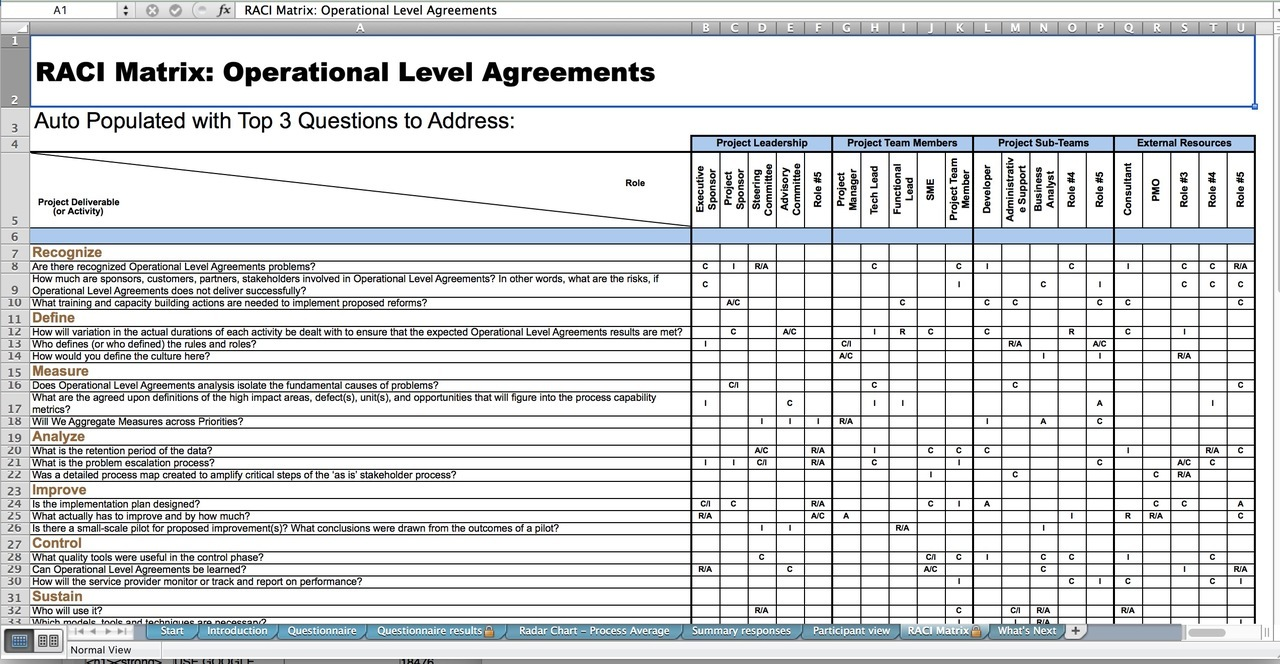 The Art Of Service Operational Level Agreements Standard