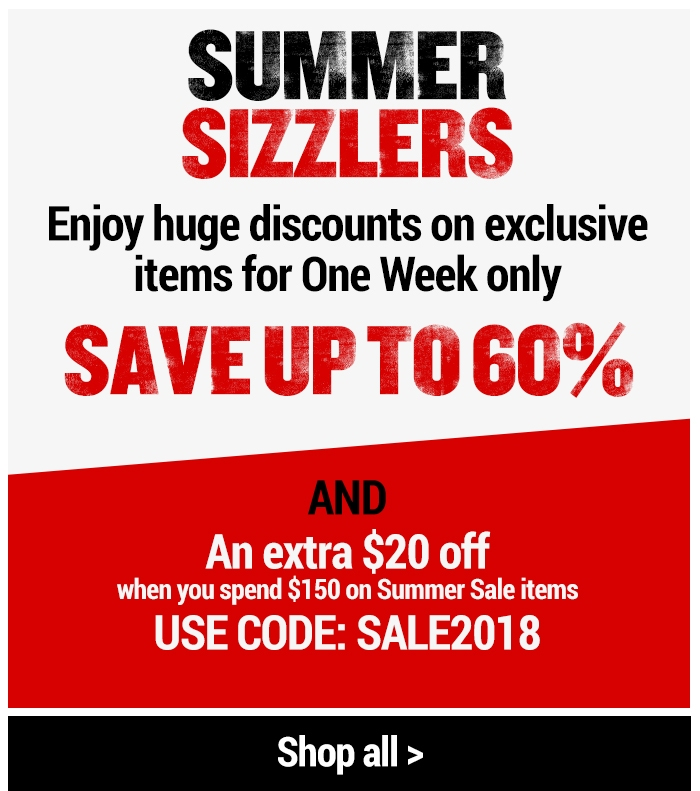 Summer Sizzlers - Enjoy huge discounts on exclusive items for One Week only