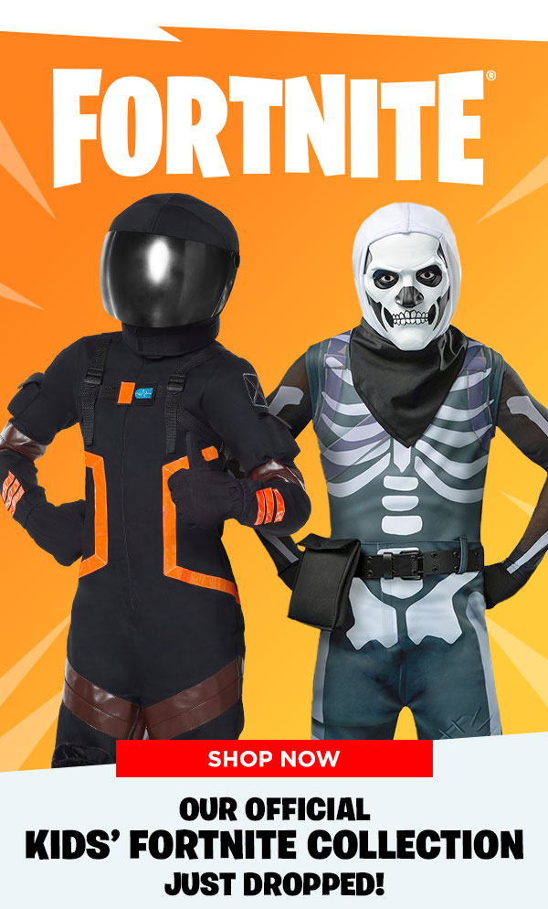 Spirit Halloween The Kids Fortnite Collection Is Here Milled