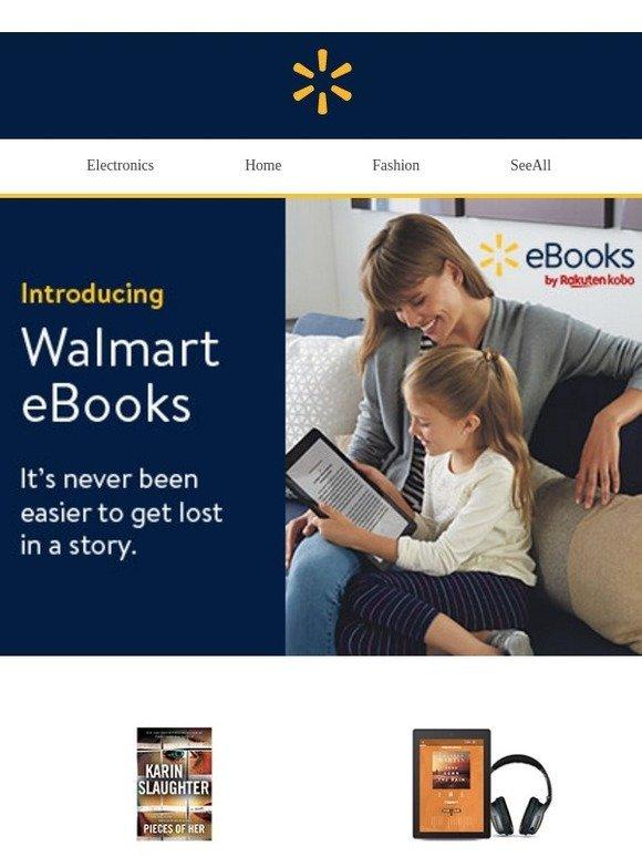 Walmart: Get $10 off Walmart eBooks | Milled