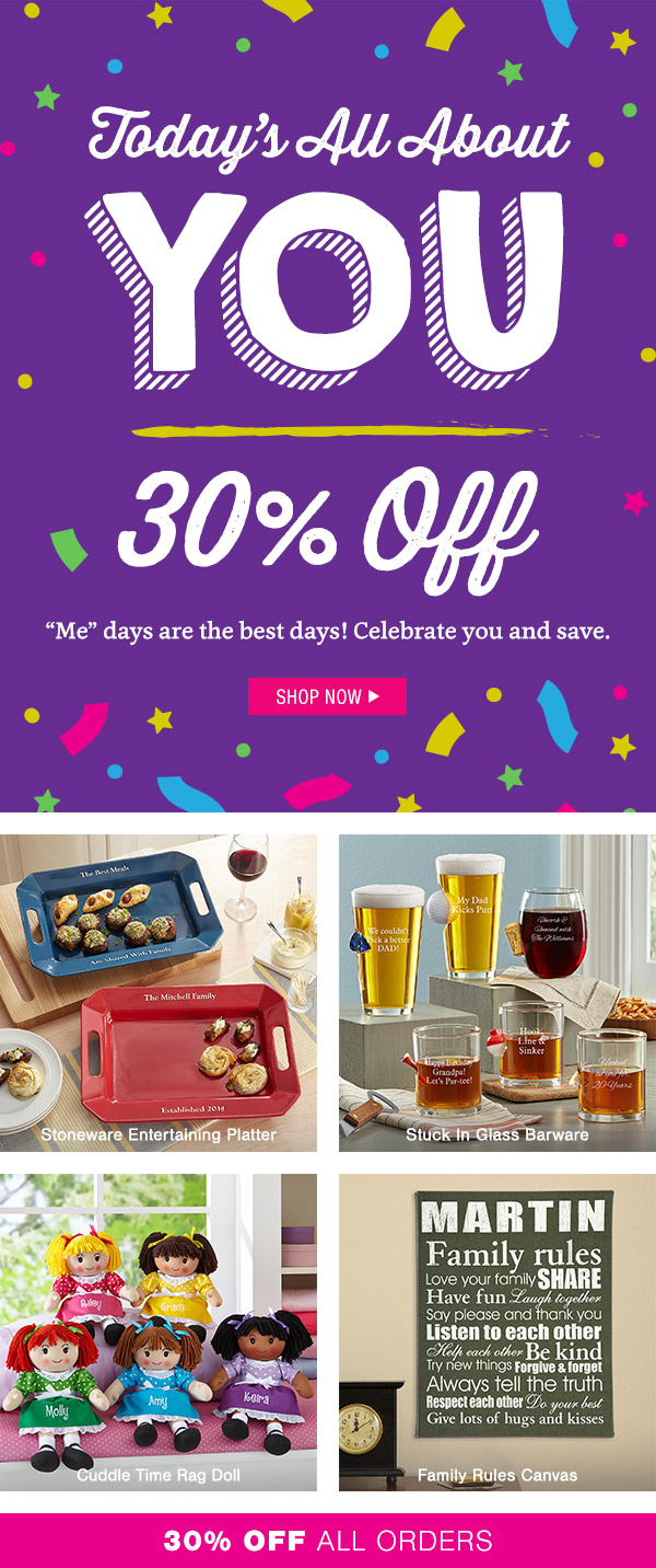 Personal Creations: 30% Off! VIP Savings Just for YOU  | Milled