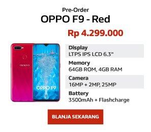 Blanja Com Spesial Pre Order Oppo F9 Plus Banyak Bonusnya Milled