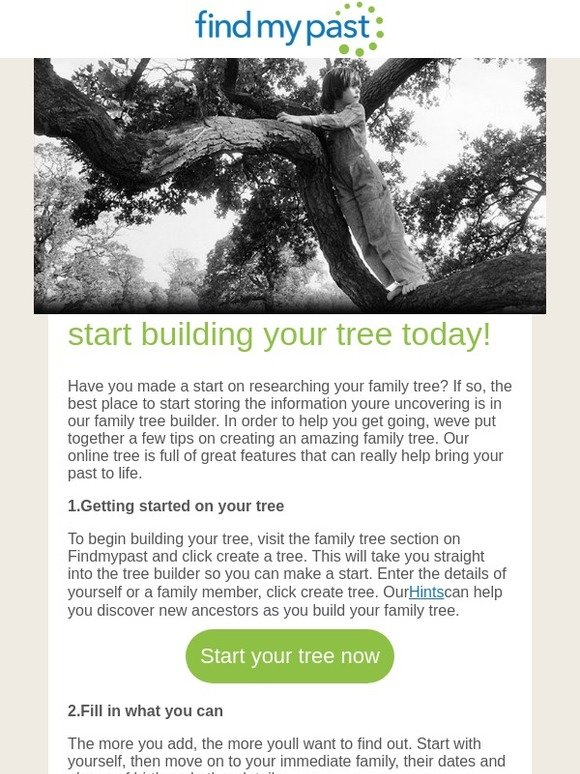 Mocavo Start Building Your Family Tree
