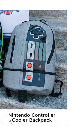 Shop nintendo controller cooler backpack d453cd2cf89ed
