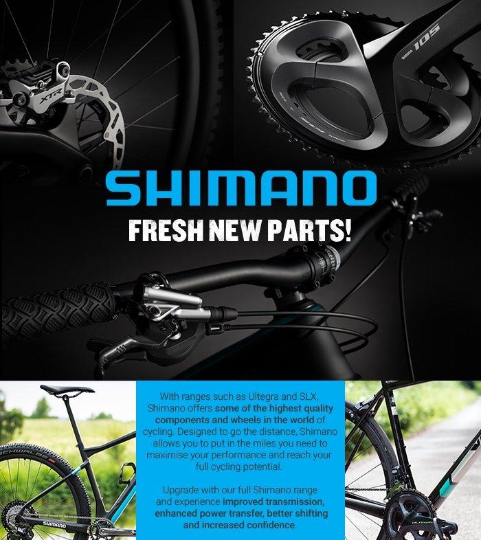 SHIMANO - FRESH NEW PARTS!