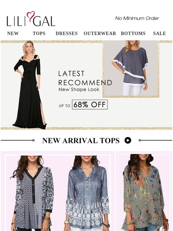 5a11d275bfa1d1 Liligal  Thanks! 14 New Tops   Dresses   Outerwear Up To 68% Off ...