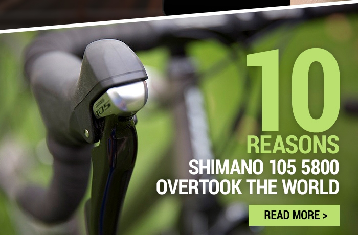 10 reasons Shimano 105 5800 overtook the cycling world