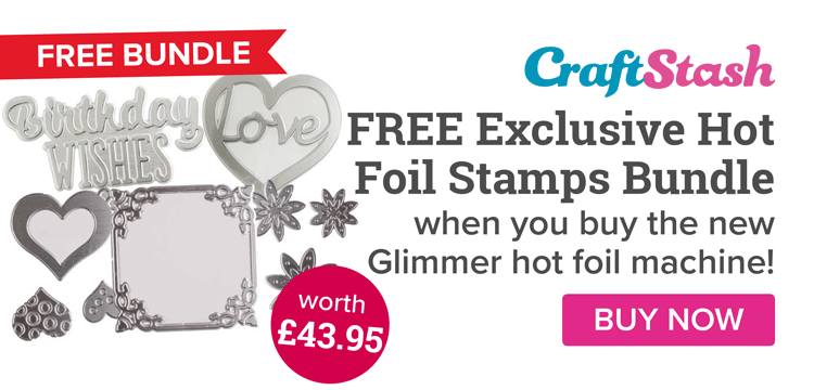 SPECIAL OFFER - Free Stamp Bundle with Every Glimmer Bought!