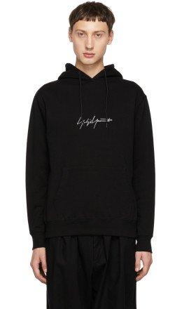 Yohji Yamamoto - Black New Era Edition Logo Hoodie