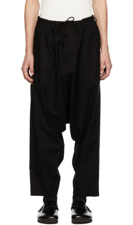 Yohji Yamamoto - Black Regular Sarouel Trousers