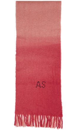 Acne Studios - Pink Kelow Dye Scarf