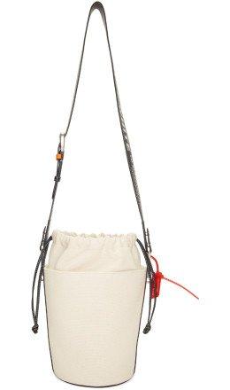 Off-White - Beige Byredo Edition Bucket Bag