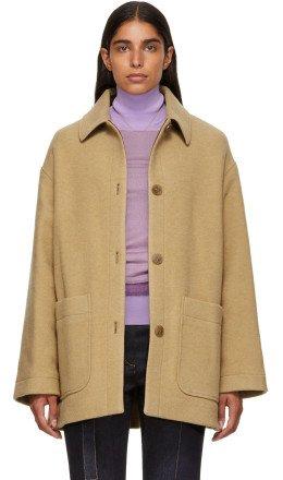Acne Studios - Brown Four-Button Coat