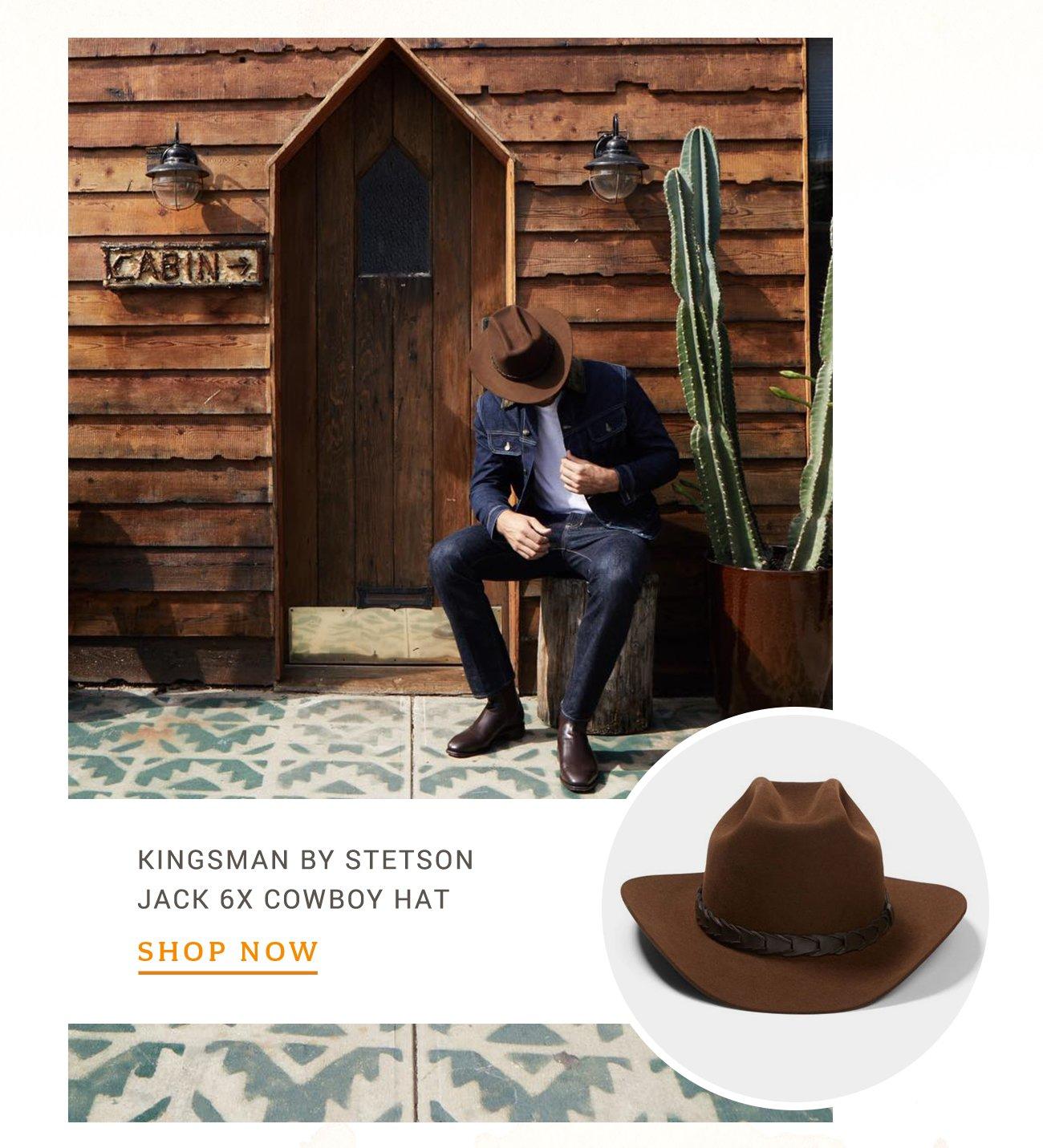 Kingsman By Stetson Jack 6x Cowboy Hat afa62981ca3