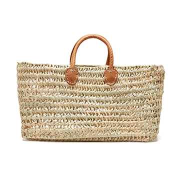 Medina Mercantile Simple Open Weave Basket $60