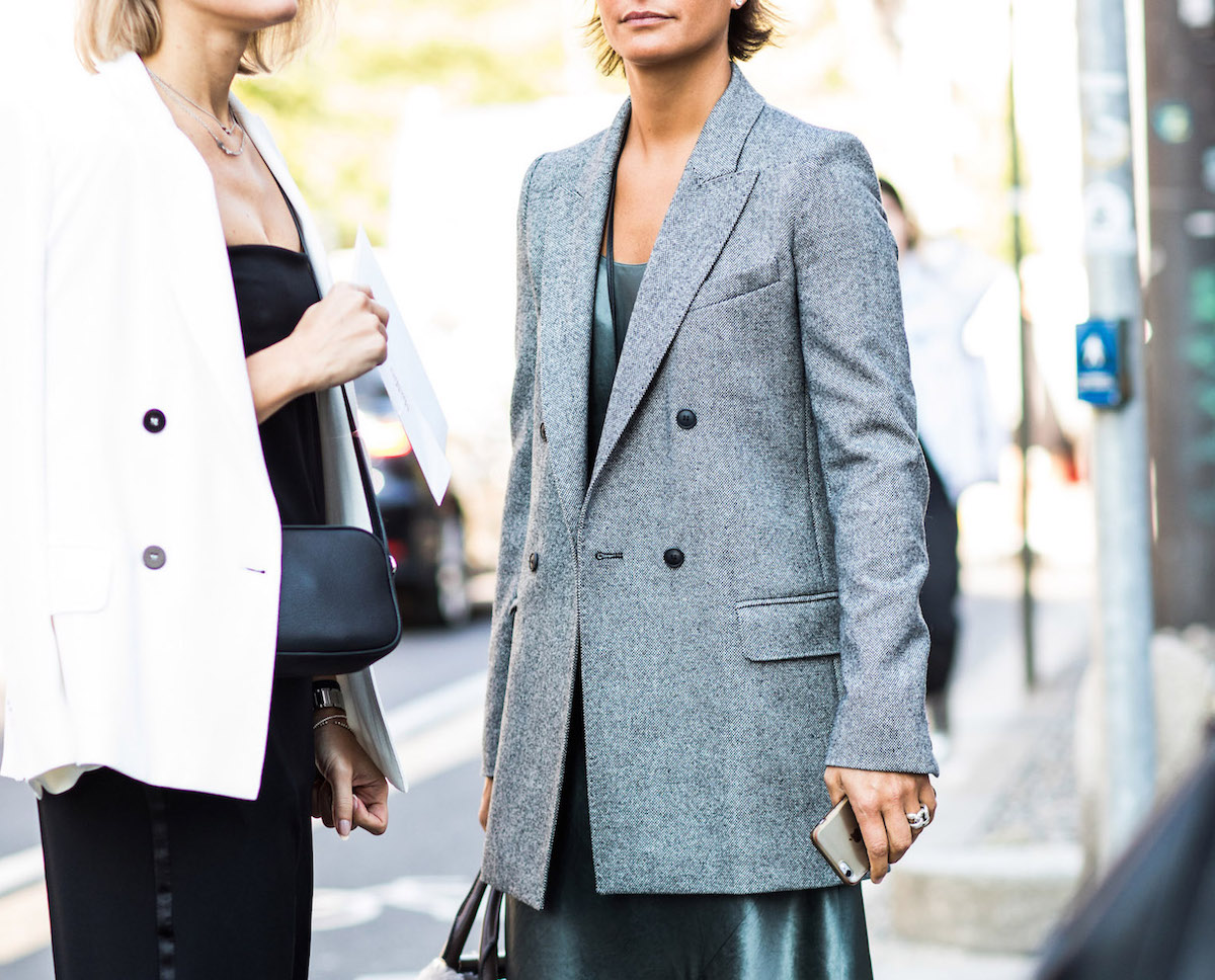 One Piece, Three Ways: The Double-Breasted Blazer