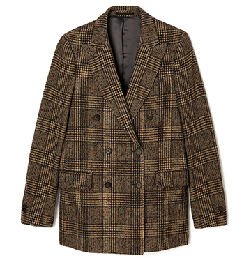 Houndstooth Check Blazer Officine Generale $825