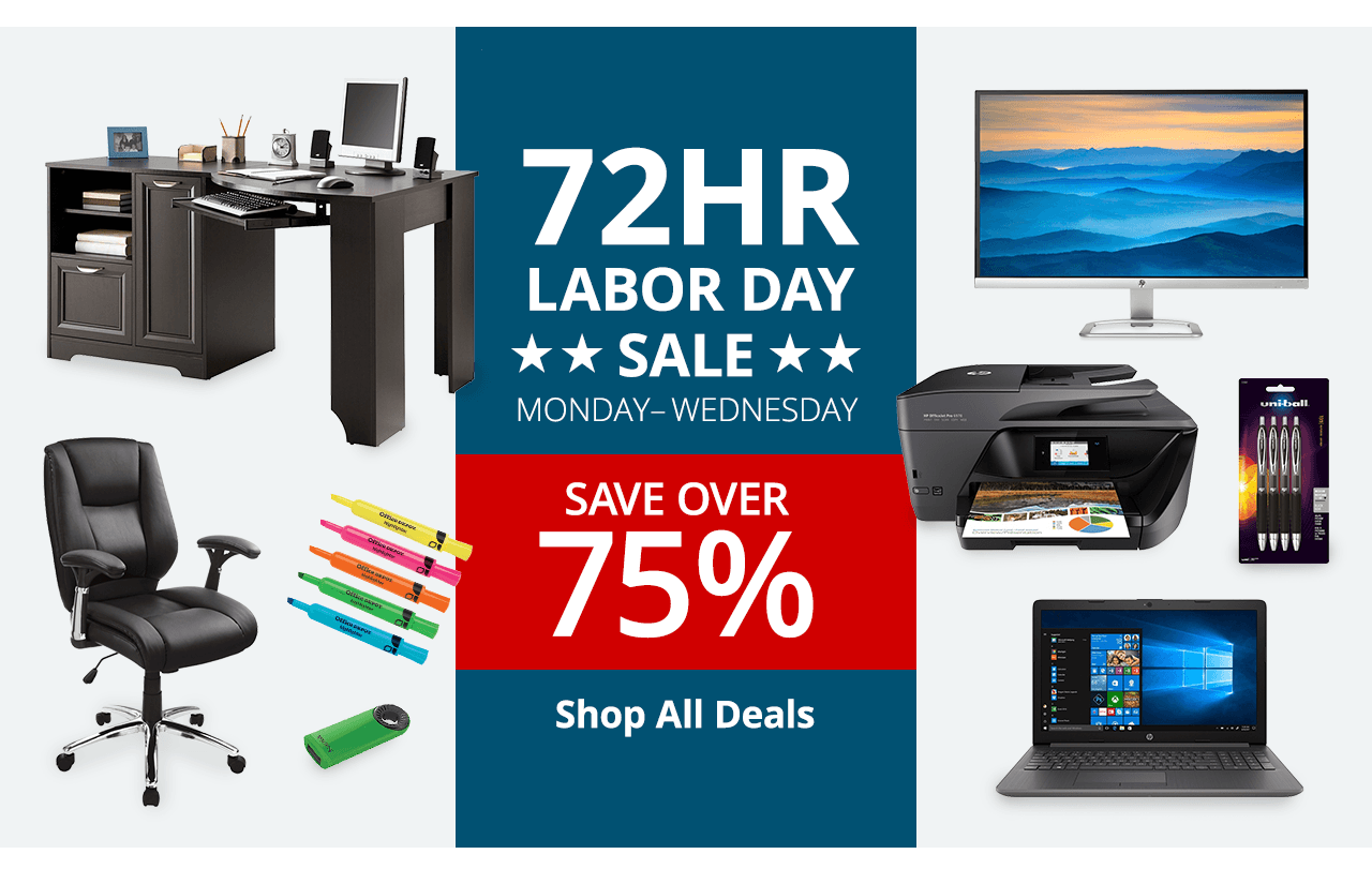 72 hour labor day sale save over 75