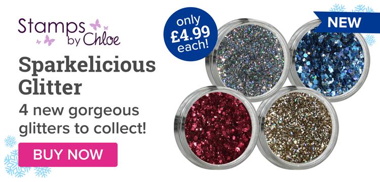NEW Sparkelicious Glitter!