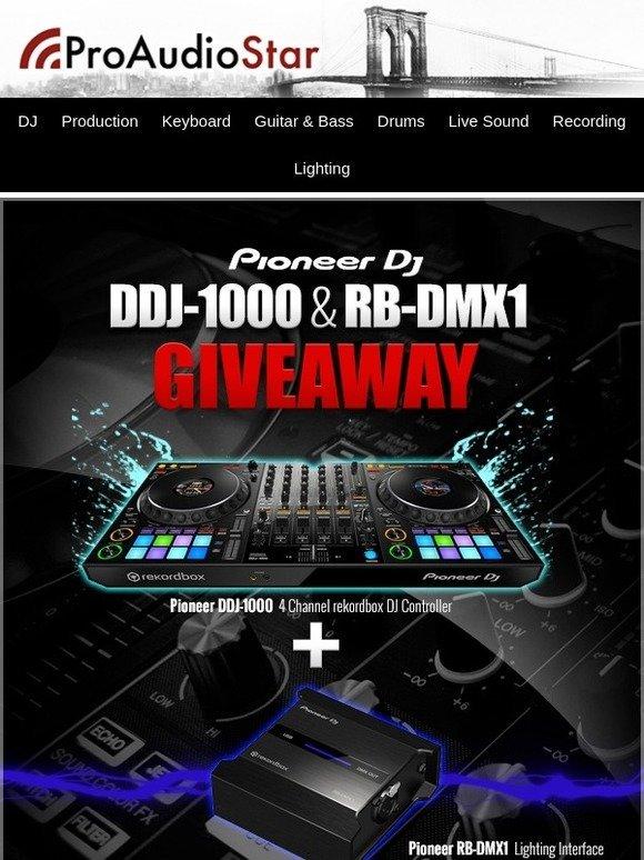 Pioneer dj giveaway
