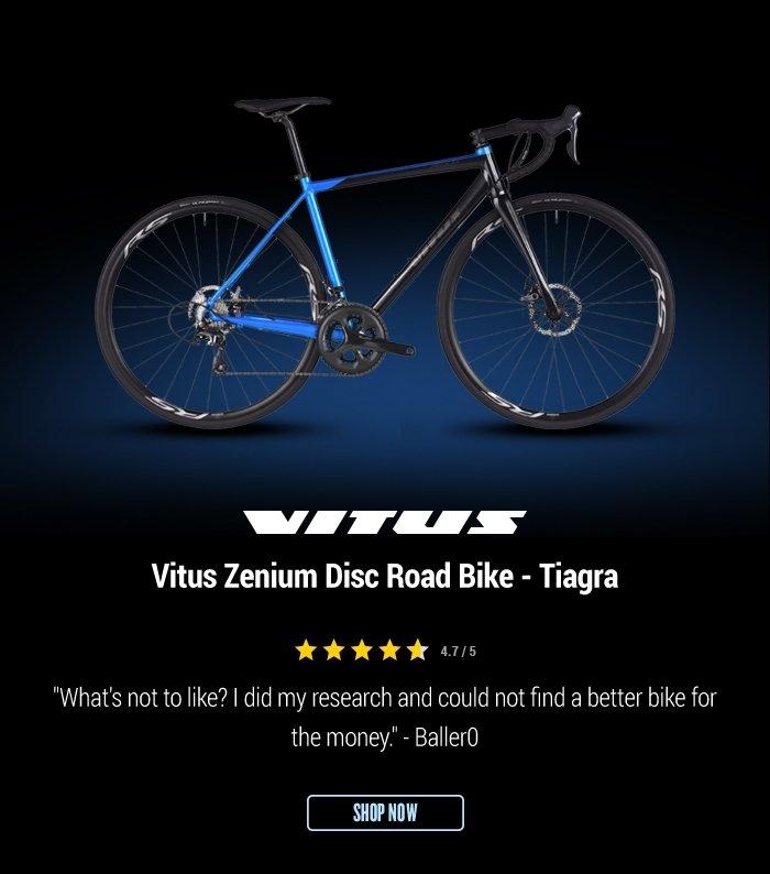 Vitus Zenium Disc Road Bike - Tiagra