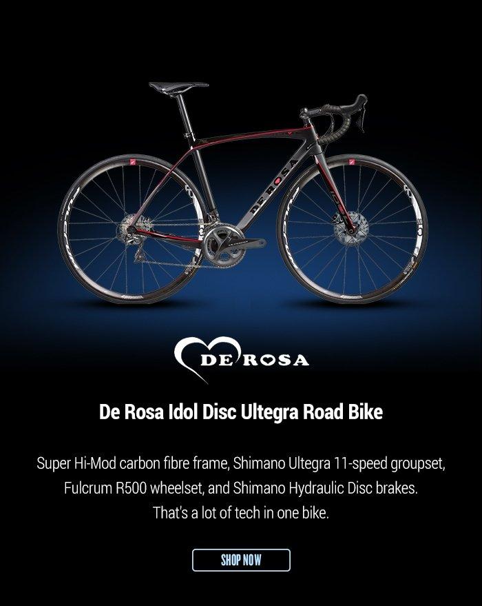 De Rosa Idol Disc Ultegra Road Bike