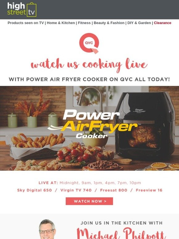 High Street TV: 🍲 Cooking up a storm with QVC 🍛 | Milled