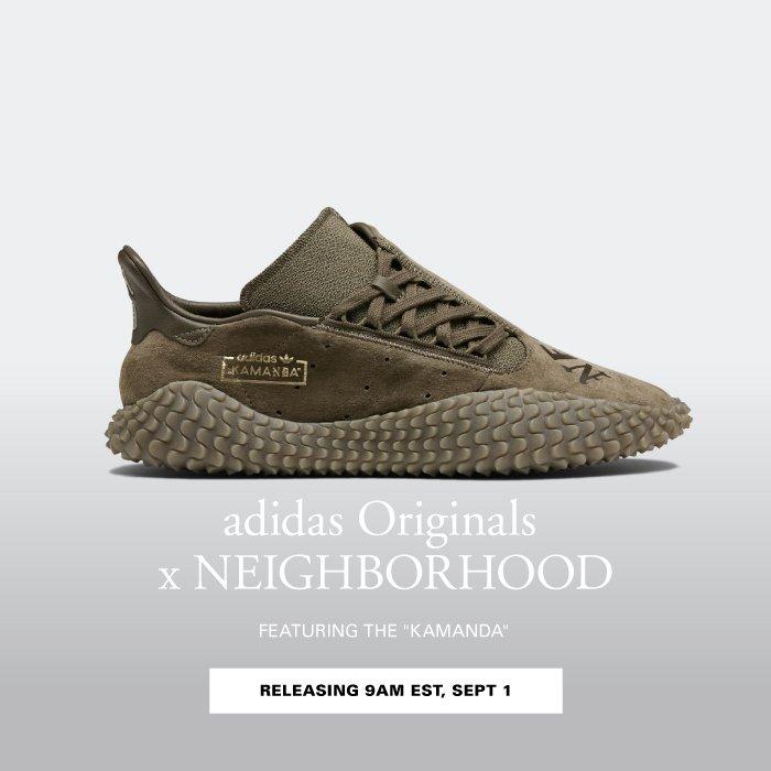 half off f3269 2a4f7 HBX: Coming Soon: adidas Originals x NEIGHBORHOOD 2018 ...