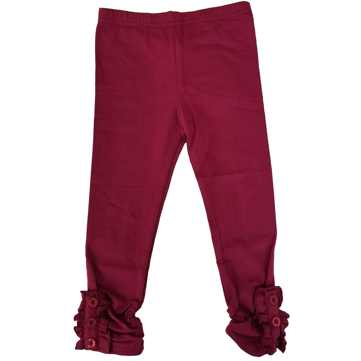MJ Matches (Sept.) - Girls Button Ruffle Pants PRE-ORDER