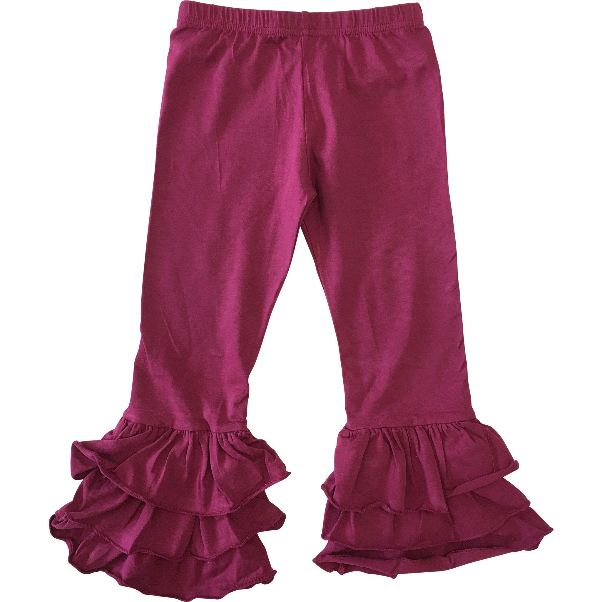 MJ Matches (Sept.) - Girls Triple Ruffle Pants PRE-ORDER